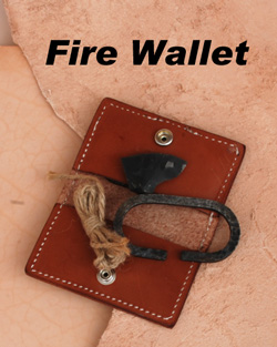 KSF Leather Fire Wallet